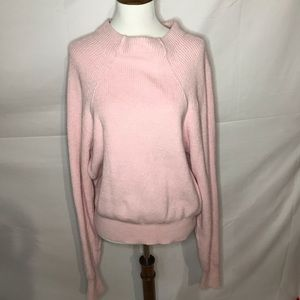 Free people perfect pink sweater! Larg